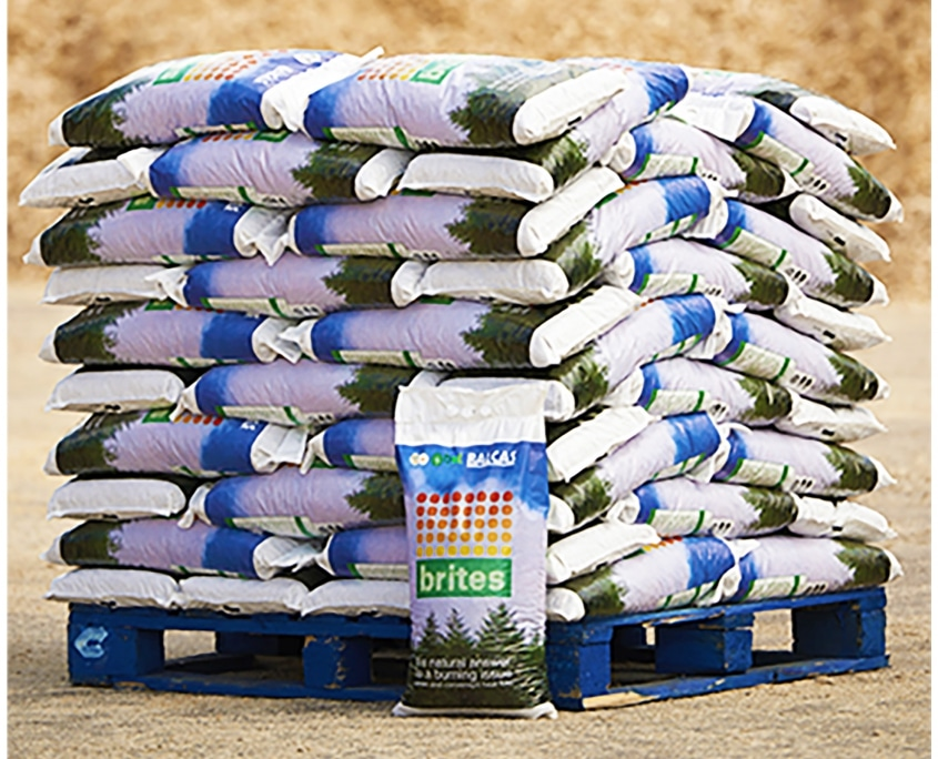Balcas Energy Wood Pellets Bags