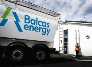 Balcas Energy wood pellets