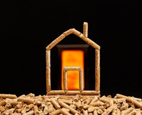 use of wood pellets